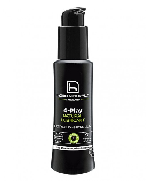 LUBRICANTE NATURAL 4 PLAY, 100 ml.