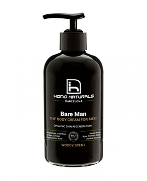 BARE MAN CREMA CORPORAL, 240 ml.